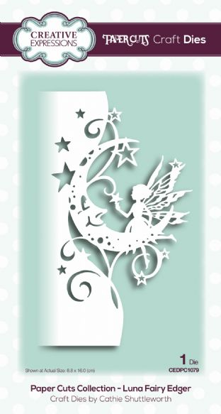 Paper Cuts Collection - Luna Fairy Edger Craft Die
